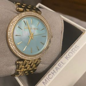 Michael Kors Mother of Pearl Blue Faced Watch